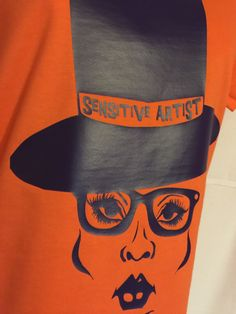 A personal favorite from my Etsy shop https://www.etsy.com/listing/259453318/sensitive-artist-fitted-tee