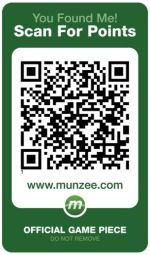 Munzee is taking over the Geocaching world....one QR code at a time