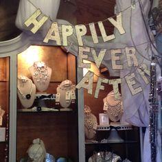 Wedding ideas store jewelry display #beekeeperscottage #luckettsva