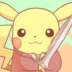 We love Pokemon, we collect art of Pokemon from all over the world. Pokemon Store, Old Pokemon, Baby Pokemon, First Pokemon, Deadpool Pikachu, Deadpool Art, Cute Pikachu, Cute Pokemon, Collect Art