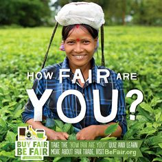 National Fair Trade Month #BeFair