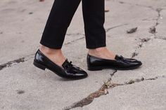 """Loafers by Tod's   get the look from """"Bright Winter Classics From Kate Spade Saturday""""   Front Roe, a fashion blog by Louise Roe"""