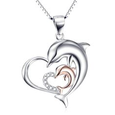 Sterling Silver Quinceanera 15 Anos Pendant Hearts and Kisses CZ stones Rhodium Finished 3//4 inch long