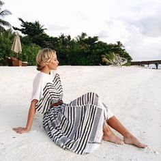 Stripes and sand.
