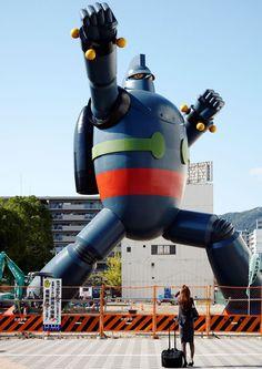 El Tetsujin de 20 metros, tal como fue planeado.