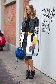 Milan Fashion Week, Love the details on her jacket! Street Style Outfits, Looks Street Style, Fashion Outfits, Womens Fashion, Fashion Trends, Milan Fashion, Street Chic, Street Wear, Elisa Cavaletti