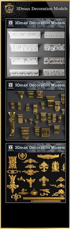 【All 3D Max Decoration Models Bundle】(Best Recommanded!!) – CAD Design | Free CAD Blocks,Drawings,Details
