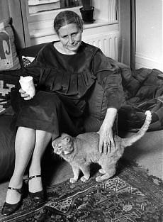 Doris Lessing, écrivain, prix Nobel.