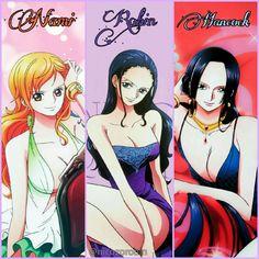 One Piece ❤ Girls