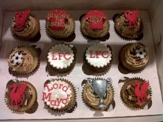 Cupcakes taken to LFCTV