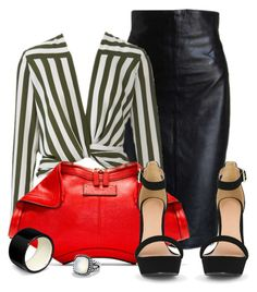 outfit by mkomorowski on Polyvore featuring polyvore fashion style Alaïa Alexander McQueen Hermès David Yurman