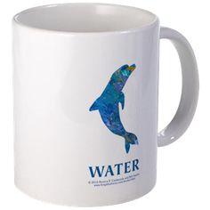 Water Element Dolphin Mug