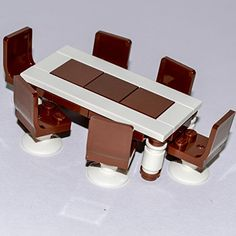 LEGO Furniture: Custom Dining Set with Table & 6 Seats Interior Bricks http://www.amazon.com/dp/B00B521K9W/ref=cm_sw_r_pi_dp_KNWvvb1P5PV89