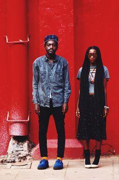 Nairobi Cool: 2 Many Siblings My Black Is Beautiful, Black Love, Beautiful People, Fashion Couple, Love Fashion, Looks Style, Style Me, Hair Style, Couple Style