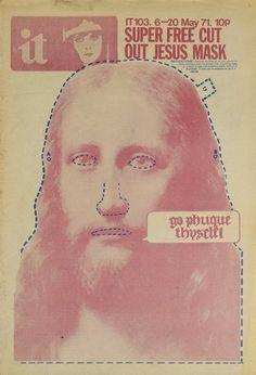 super free cut out Jesus mask
