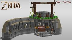 Holy Crap this is awesome! #LEGO Legend of Zelda by Ragaru