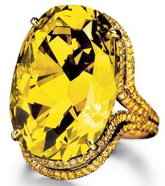 Chopard Chameleon diamond. This 10,000,000 dollar chameleon diamond appears green in bright light but looks yellow in darkness. It is the largest chameleon diamond known to exist.