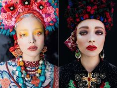 The Folklore Beauties of Ula Kóska  In her series Ethnic Bride Ula Kóska bring back to the date the Polish traditions but with a range of vivid and modern colors. Culture is at the heart of the artists works presented below. Paradise Kitsch plays also with the codes of traditional culture to modernize it. A perfect presentation and a fascinating theme reveal a great talent for visual storytelling and creative presentation!                    #xemtvhay