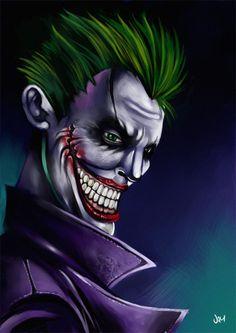 Classic Joker http://jimjaz.deviantart.com/art/Classic-Joker-Speed-Painting-406527955