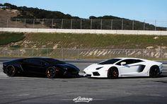 SPY VS SPY -- Lamborghini Aventador