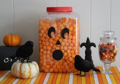 What a cute idea to have for the kids....I might have to try this. I've always wanted to buy one of those big containers of the huge cheese puffs...