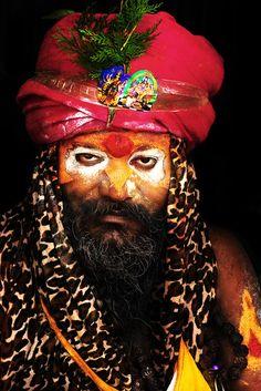 Hindu Sadhu - India.