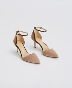 fa0c21d290bc Thumbnail Image of Color Swatch 7007 Image of Wendy Suede Ankle Strap  Kitten Heels