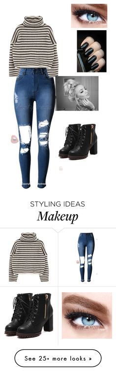 """""""Untitled #1327"""" by fangirl23 on Polyvore featuring Mode und Maybelline"""
