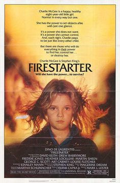 Movies From The 70S   Firestarter movie posters at movie poster warehouse movieposter.com