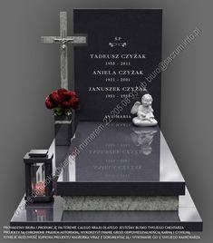 PROWADZIMY BIURA I PRODUKCJĘ NAGROBKÓW NA TERENIE CAŁEGO KRAJU, DLATEGO JESTEŚMY BLISKO TWOJEGO CMENTARZA. Zadzwoń, napisz, zapytaj o wycenę nagrobka. Dobry… Cemetery Monuments, Religious Architecture, Funeral, Modern, Frases, Grave Decorations, Famous Graves, Interior Design, Graveyards