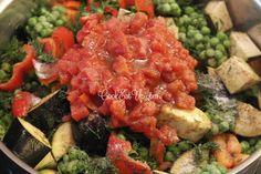 Αρακάς λαδερός με μελιτζάνες ⋆ Cook Eat Up! Cookbook Recipes, Cooking Recipes, Salsa, Mexican, Ethnic Recipes, Food, Chef Recipes, Essen, Salsa Music