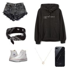 """""""Faith #1"""" by testtester ❤ liked on Polyvore featuring Converse, Sefton and Bulgari"""