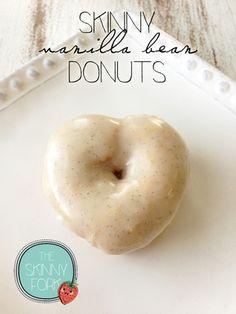Skinny Vanilla Bean Donuts — The Skinny Fork