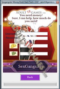 Sexgangsters money and gold hack tool