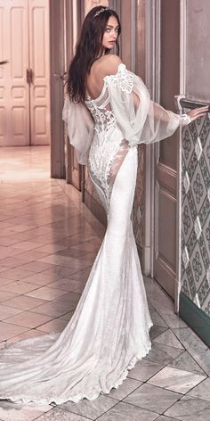 Galia Lahav 2018 Wedding Dresses And#8211; Victorian Affinity Collection ❤ See more: http://www.weddingforward.com/galia-lahav-2018-wedding-dresses/ #weddings