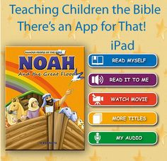Teaching Children the Bible - There's an app for that!