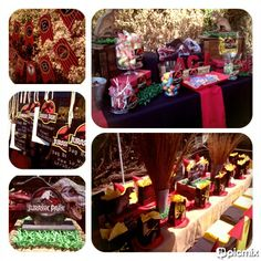 Jurasic Park Themed Kids Party & Candy Buffet by Voila Functions www.facebook.com/voilafunctions