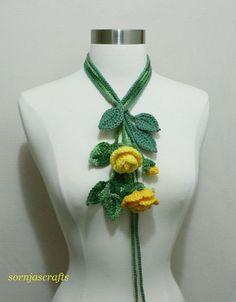 Sale-Unique Crochet Multi-Color Rose Bouquet от SornjasCrafts
