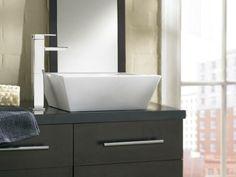 90 Degree Lave Faucet From Moen Bathroom Renos, Bathroom Faucets, Master  Bathrooms, Vessel