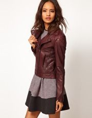 ASOS Leather Biker Jacket  http://asos.to/QlwZYm