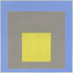 Joseph Albers, Study for Homage to the Square: Light Rising, 1950, altered 1959. Oil on wood fiberboard. National Gallery of Art, Washington, collection of Robert and Jane Meyerhoff. © 2013 The Josef and Anni Albers Foundation / Artists Rights Society (ARS), New York