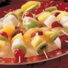 Colorful Fruit Kabobs Recipe