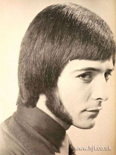 vintage everyday: The Most Romantic Period of Men's Hairstyles 1970s Hairstyles, Vintage Hairstyles, Men's Hairstyles, Romantic Period, Sideburns, Nostalgia, Hair Magazine, Hipster Man, Bad Hair Day