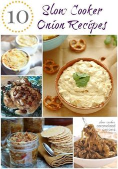 10 onion slow cooker recipes