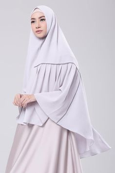 Light Grey Hijab Cartoon, Kamiz, Hijab Fashion, Muslim, Hijab Ideas, Hijabs, Scarfs, Grey, My Style