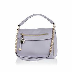 I'm shopping Light purple fold over slouch bag in the River Island iPhone app. River Island Fashion, Slouch Bags, Satchel, Crossbody Bag, Womens Purses, Leather Shoulder Bag, Shoulder Strap, Shoulder Bags, Luggage Bags