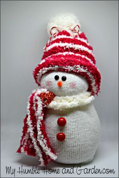 How To Make An Adorable Sock Snowman! – My Humble Home and Garden How To Make An Adorable Sock Snowman! – My Humble Home and Garden,christmas How To Make An Adorable Sock Snowman! Christmas Crafts For Kids, Christmas Snowman, Christmas Projects, Holiday Crafts, Christmas Diy, Christmas Ornaments, Country Christmas, Christmas Trees, Christmas Morning