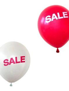 Sale Balloons - Display Decoration