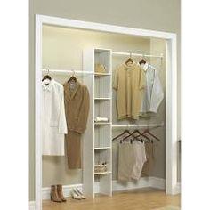 ClosetMaid Selectives 12 In White Custom Closet Organizer
