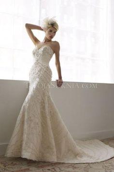 Barevné svatební šaty Srdíčko Elegantní & luxusní Svatební šaty 2014